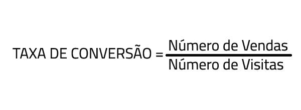 Cálculo taxa de conversão