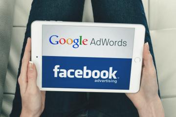 Ilustração: Facebook Ads ou Google Adwords
