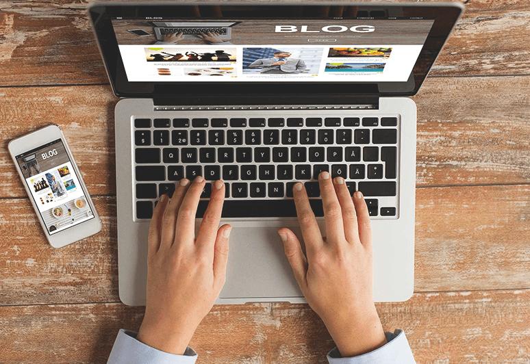 Blog para loja virtual ou e-commerce