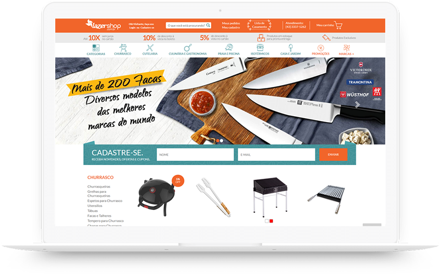 Loja de utilidades domésticas online - Case Inbound Marketing K2 Estratégia Digital