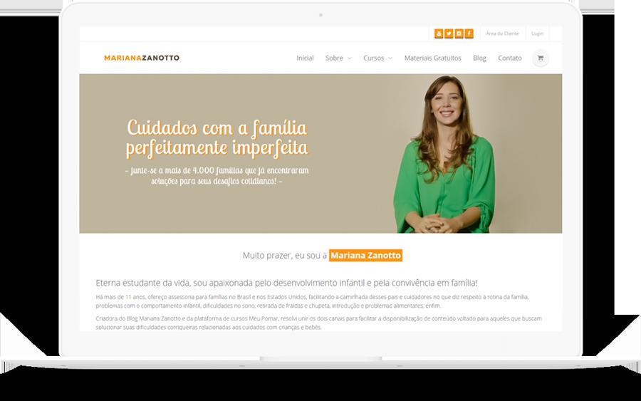 Case Mariana Zanotto - curso de assessoria de famílias