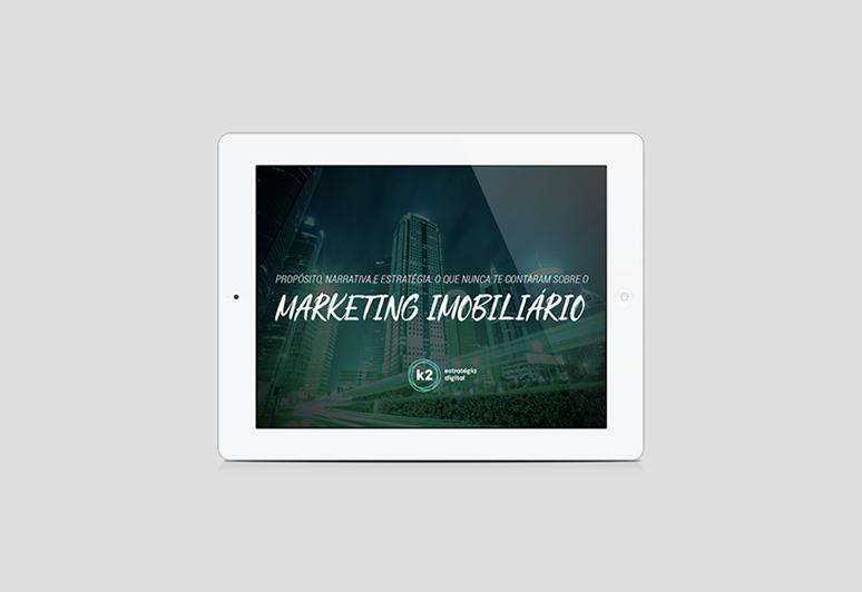 E-book sobre marketing digital para imobiliárias ou marketing imobiliário como funciona