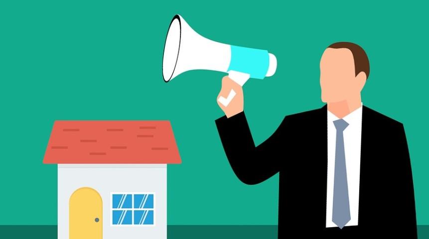 Ilustração o que é Marketing Imobiliário