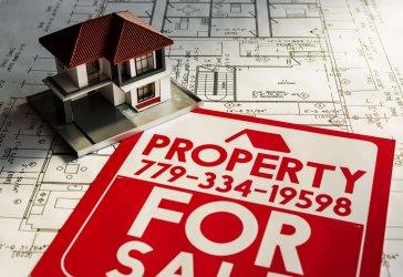 Ilustração sobre publicidade para imobiliária e construtora